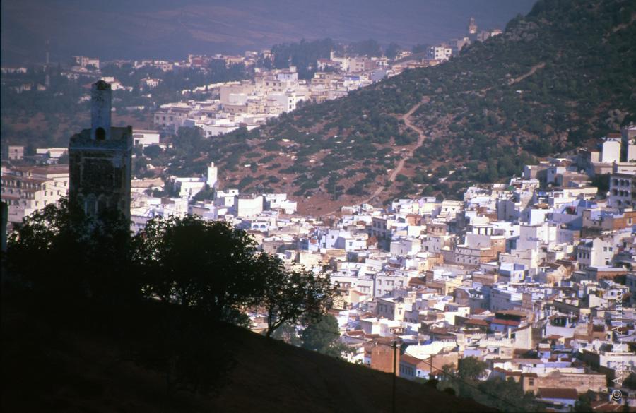 Chefchaouen hills