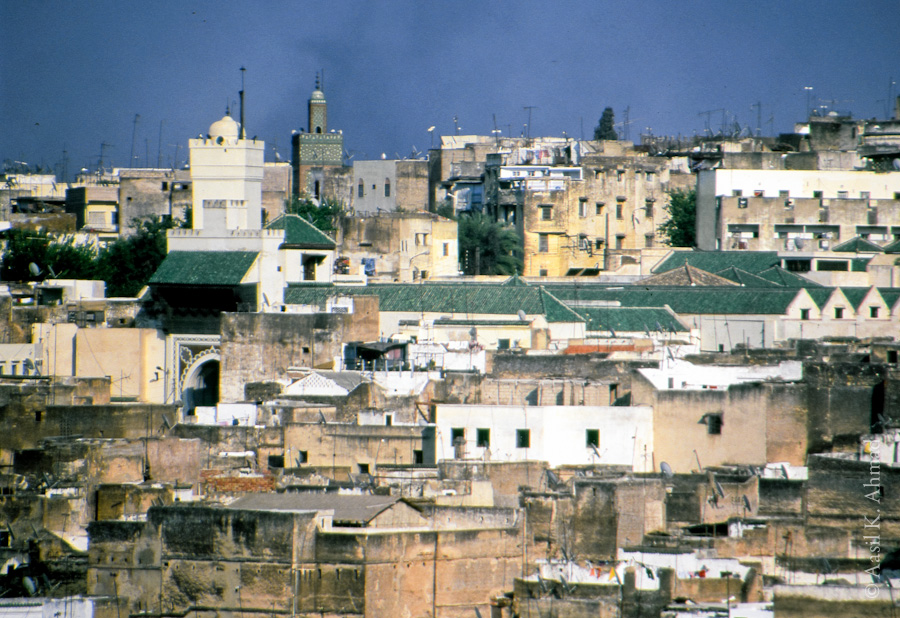 Andalusian mosque in Fes