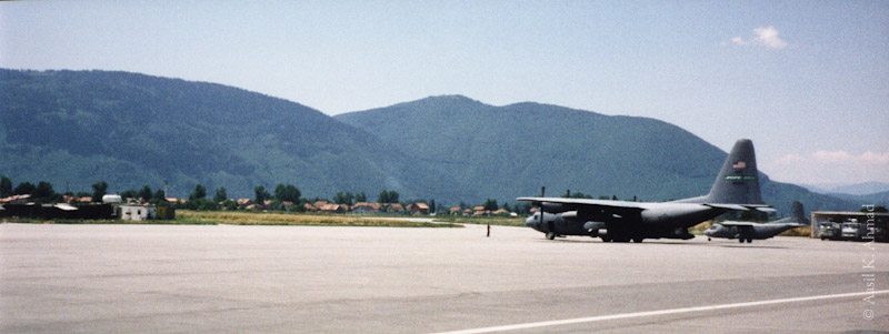 Military transport at Airport