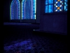 Stained glass windows in Shah Alam mosque